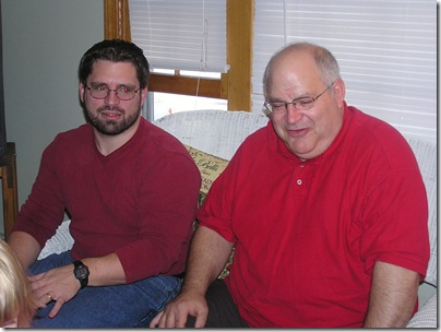 Erik and his dad